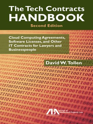 cover image of The Tech Contracts Handbook