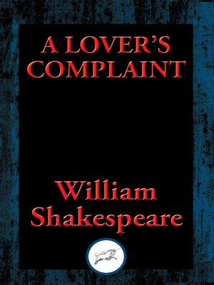 cover image of A Lover's Complaint