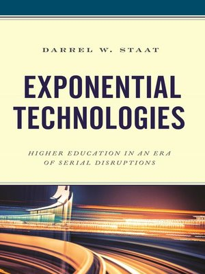 cover image of Exponential Technologies