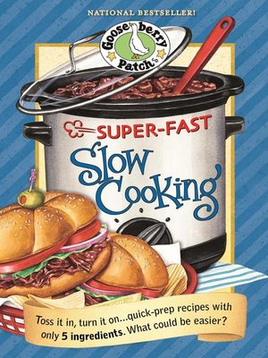cover image of Super-Fast Slow Cooking Cookbook