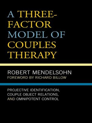 cover image of A Three-Factor Model of Couples Therapy