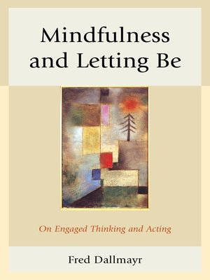 cover image of Mindfulness and Letting Be