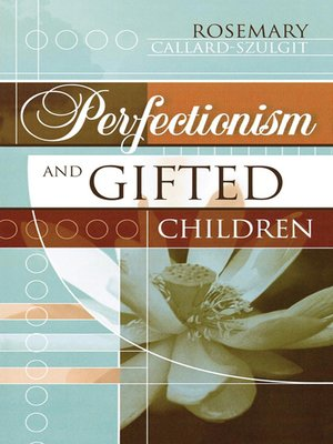 cover image of Perfectionism and Gifted Children