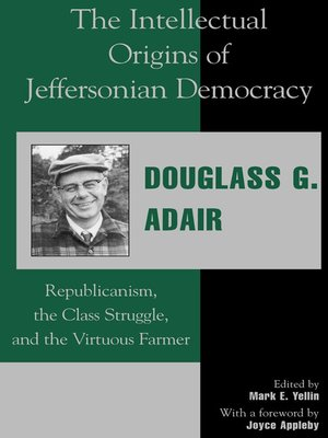 cover image of The Intellectual Origins of Jeffersonian Democracy