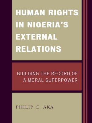 cover image of Human Rights in Nigeria's External Relations