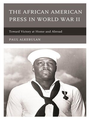 cover image of The African American Press in World War II