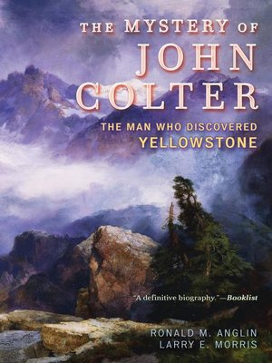 cover image of The Mystery of John Colter