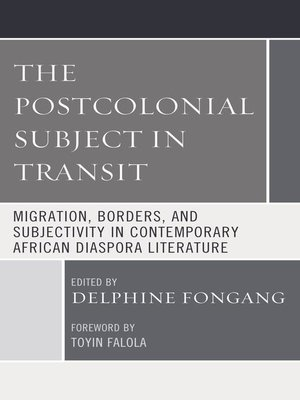 cover image of The Postcolonial Subject in Transit