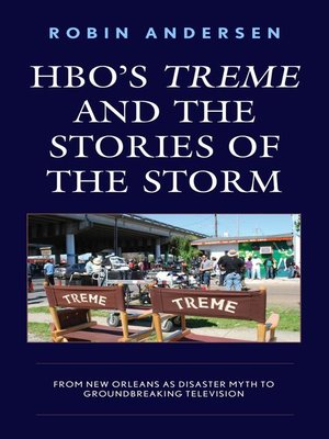 cover image of HBO's Treme and the Stories of the Storm