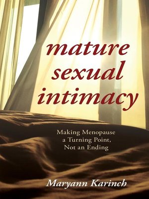 cover image of Mature Sexual Intimacy
