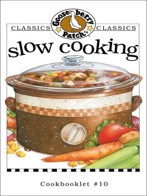 cover image of Slow Cooking Cookbook