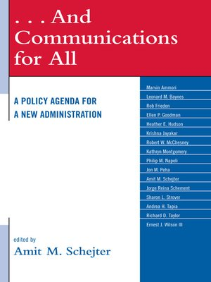 cover image of . . . And Communications for All
