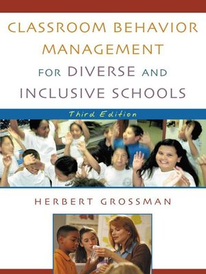 cover image of Classroom Behavior Management for Diverse and Inclusive Schools