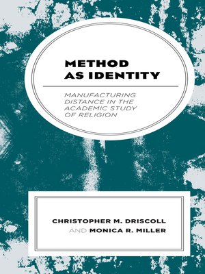 cover image of Method as Identity