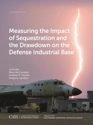 cover image of Measuring the Impact of Sequestration and the Drawdown on the Defense Industrial Base