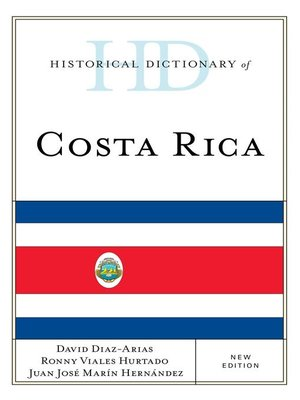 cover image of Historical Dictionary of Costa Rica