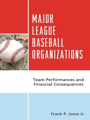 cover image of Major League Baseball Organizations