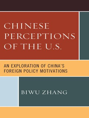 cover image of Chinese Perceptions of the U.S.