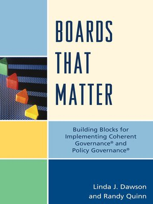 cover image of Boards that Matter