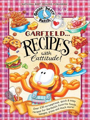 cover image of Garfield...Recipes with Cattitude! Cookbook