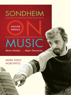 cover image of Sondheim on Music