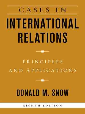 cover image of Cases in International Relations