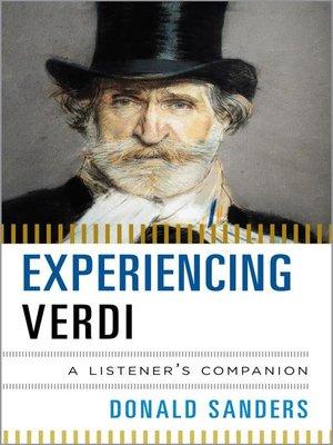 cover image of Experiencing Verdi