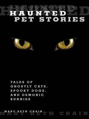 cover image of Haunted Pet Stories