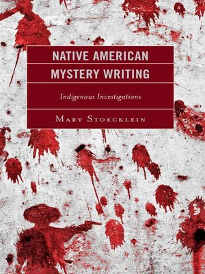 cover image of Native American Mystery Writing