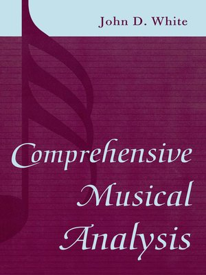 cover image of Comprehensive Musical Analysis