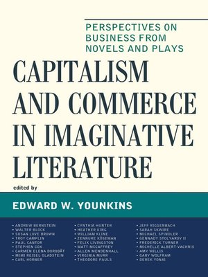 cover image of Capitalism and Commerce in Imaginative Literature