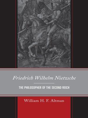 cover image of Friedrich Wilhelm Nietzsche