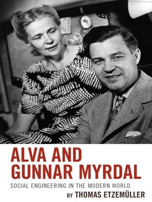 cover image of Alva and Gunnar Myrdal