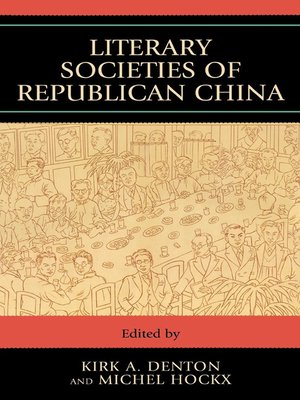 cover image of Literary Societies of Republican China