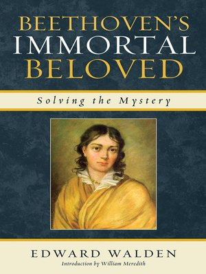 cover image of Beethoven's Immortal Beloved
