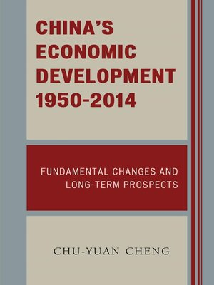 cover image of China's Economic Development, 1950-2014