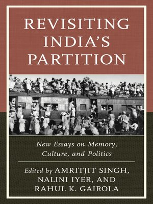 cover image of Revisiting India's Partition