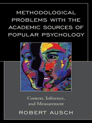 cover image of Methodological Problems with the Academic Sources of Popular Psychology