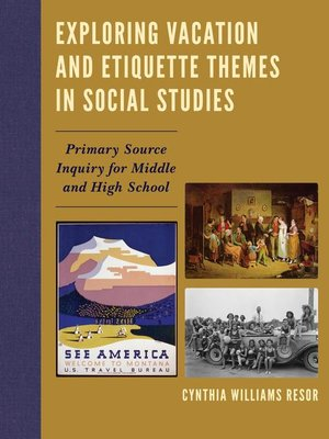 cover image of Exploring Vacation and Etiquette Themes in Social Studies