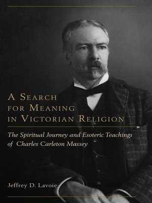 cover image of A Search for Meaning in Victorian Religion