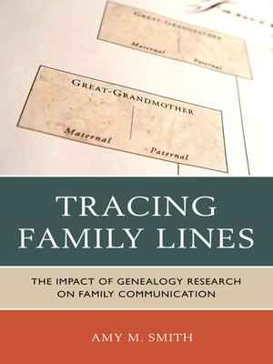 cover image of Tracing Family Lines