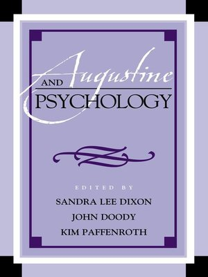 cover image of Augustine and Psychology