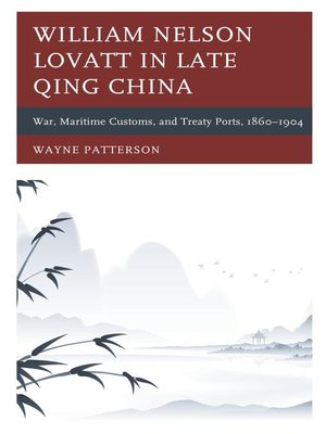 cover image of William Nelson Lovatt in Late Qing China
