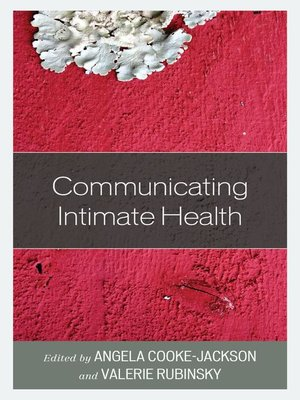 cover image of Communicating Intimate Health