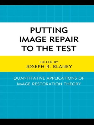 cover image of Putting Image Repair to the Test