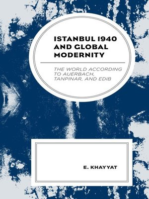 cover image of Istanbul 1940 and Global Modernity