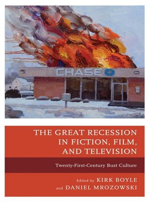 cover image of The Great Recession in Fiction, Film, and Television