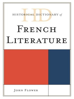 cover image of Historical Dictionary of French Literature