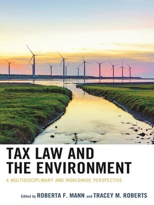 cover image of Tax Law and the Environment