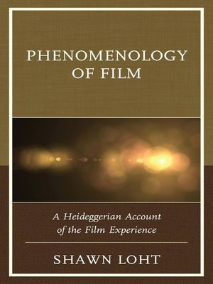 cover image of Phenomenology of Film